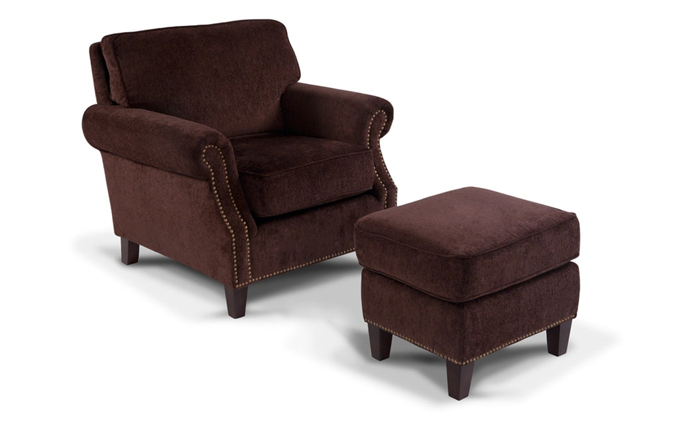 Mirage Chair & Ottoman