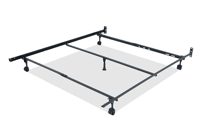Queen/ King/ California King Bed Frame With Casters