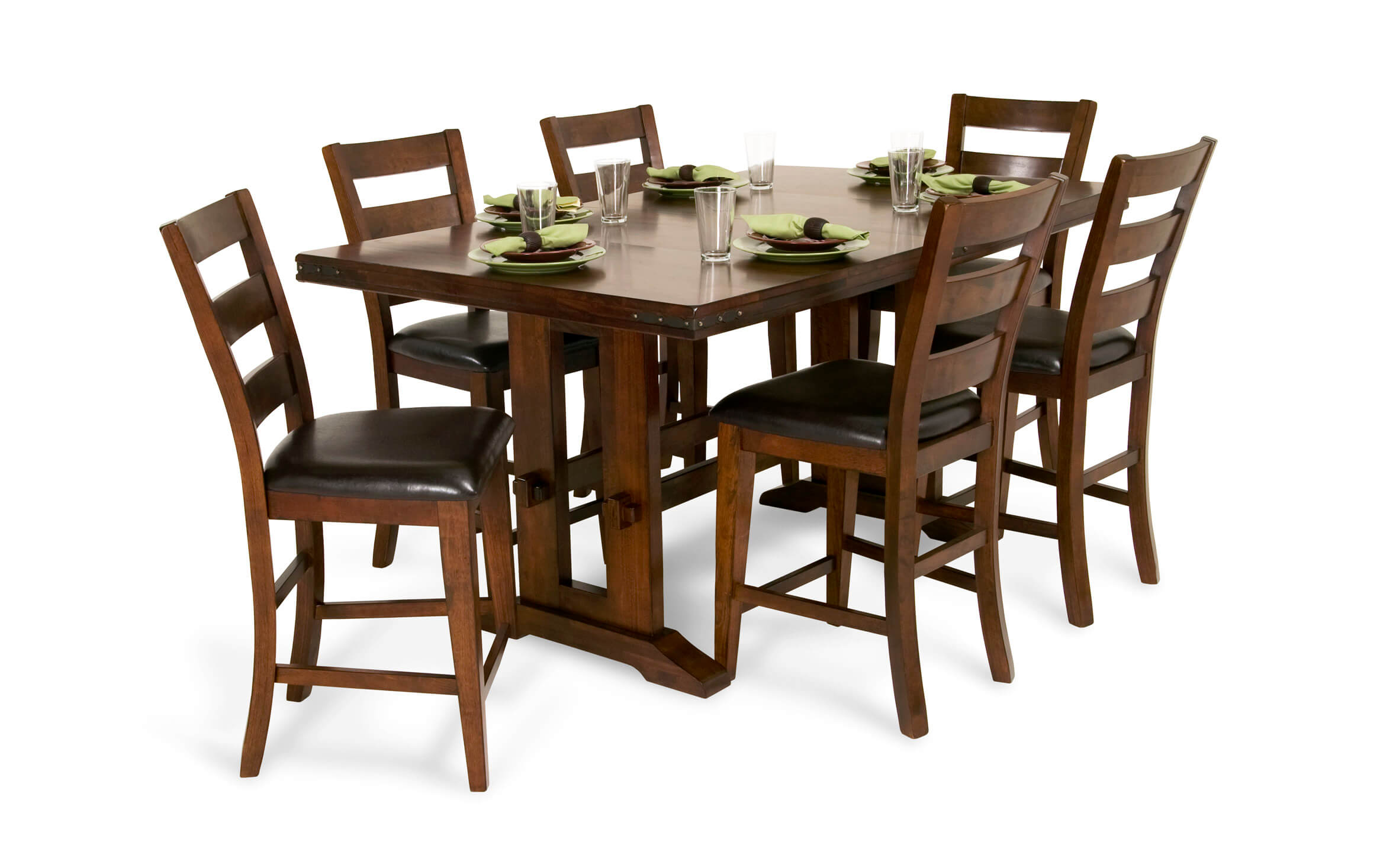 Enormous 7 Piece Counter Set Bob S, Bobs Furniture Dining Room