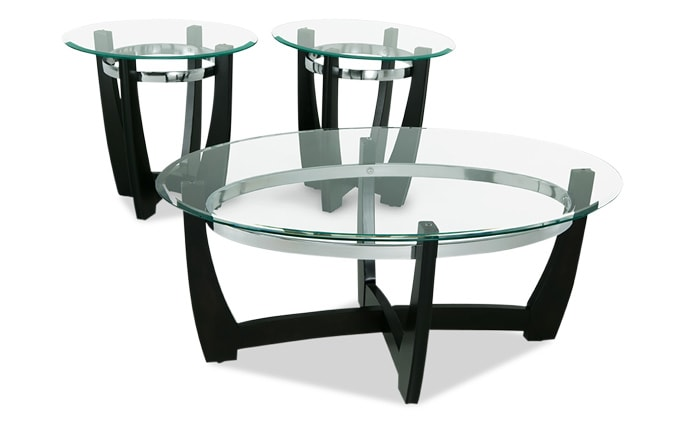 Matinee Coffee Table Set  sc 1 st  Bobu0027s Discount Furniture & Coffee u0026 End Tables | Bobu0027s Discount Furniture