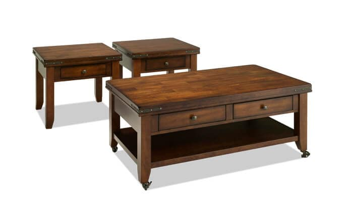 Enormous Coffee Table Set  sc 1 st  Bob\u0027s Discount Furniture : coffee table sets for cheap - pezcame.com