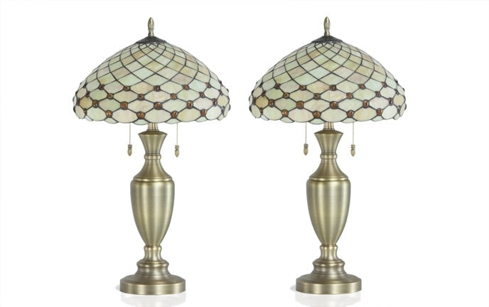 Set of 2 Monaco Lamps