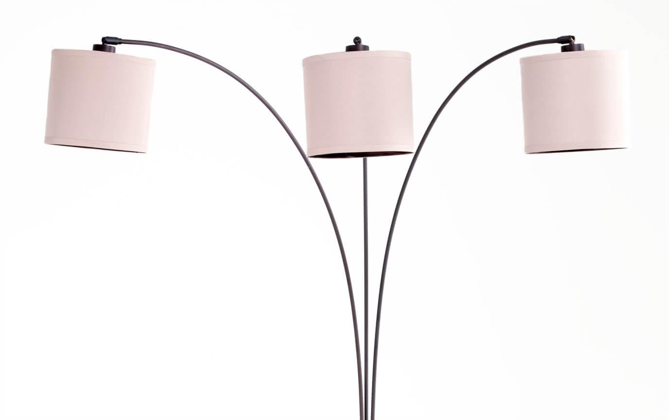 78 3 Light Arc Floor Lamp Bobscom