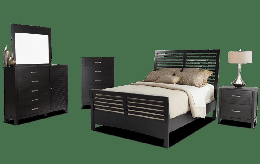 Dalton Queen Espresso Bedroom Set