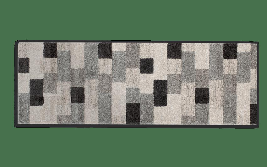 Gray Bricks Runner