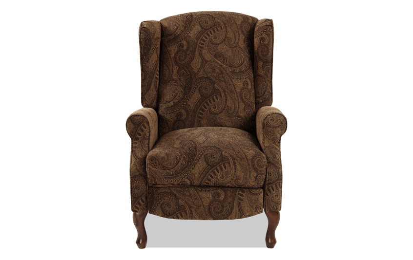 with chair pictures incredible of nailhead trim gallery recliner for queen tall wing inspiring leather best anne club wingback