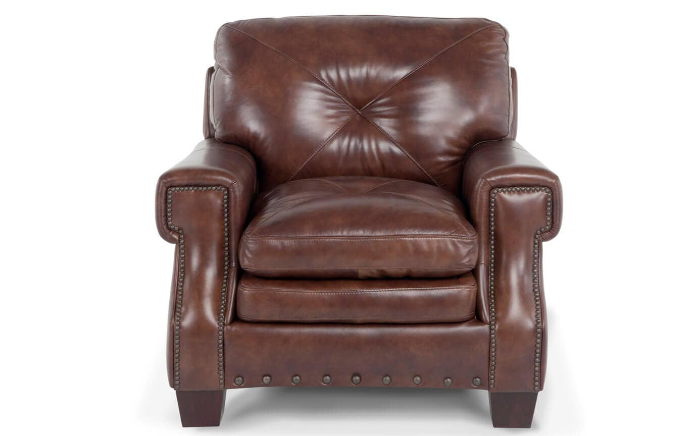 Lawrence Leather Chair Outlet Bobs Com