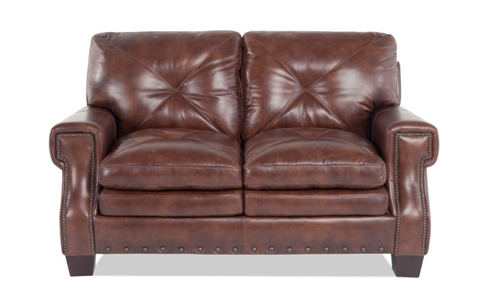 Lawrence Leather Loveseat