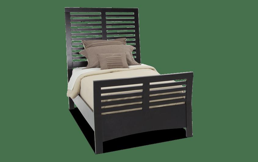 Dalton Twin Espresso Bed
