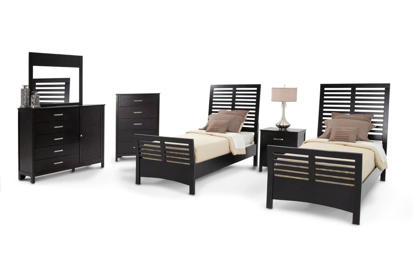 Dalton Twin Espresso Bedroom Set