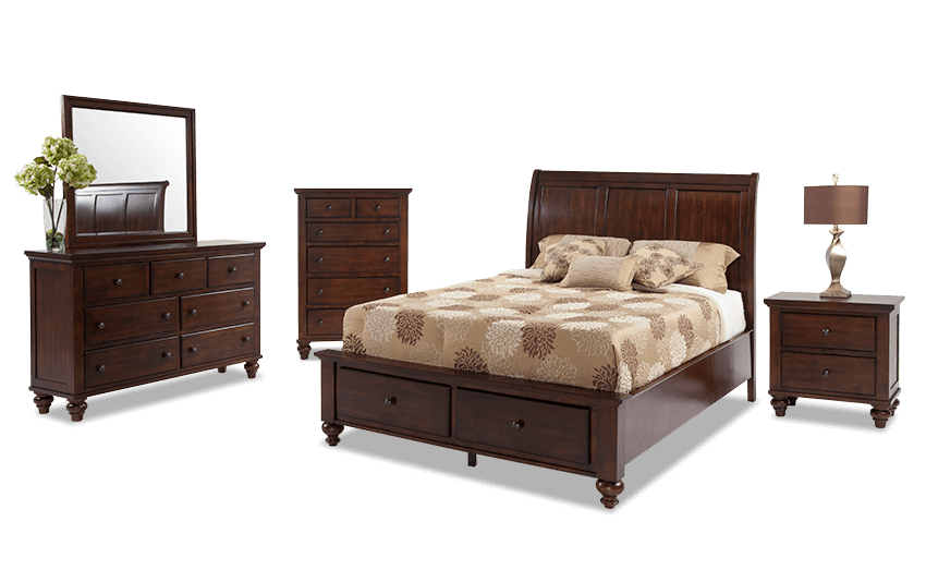 hamilton bedroom set chatham bedroom set bob s furniture 11765