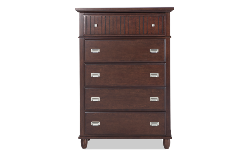 Spencer Cherry Lift-Top Chest