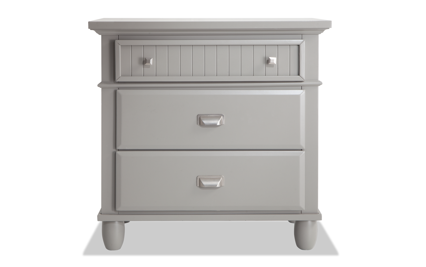 Spencer Gray Nightstand