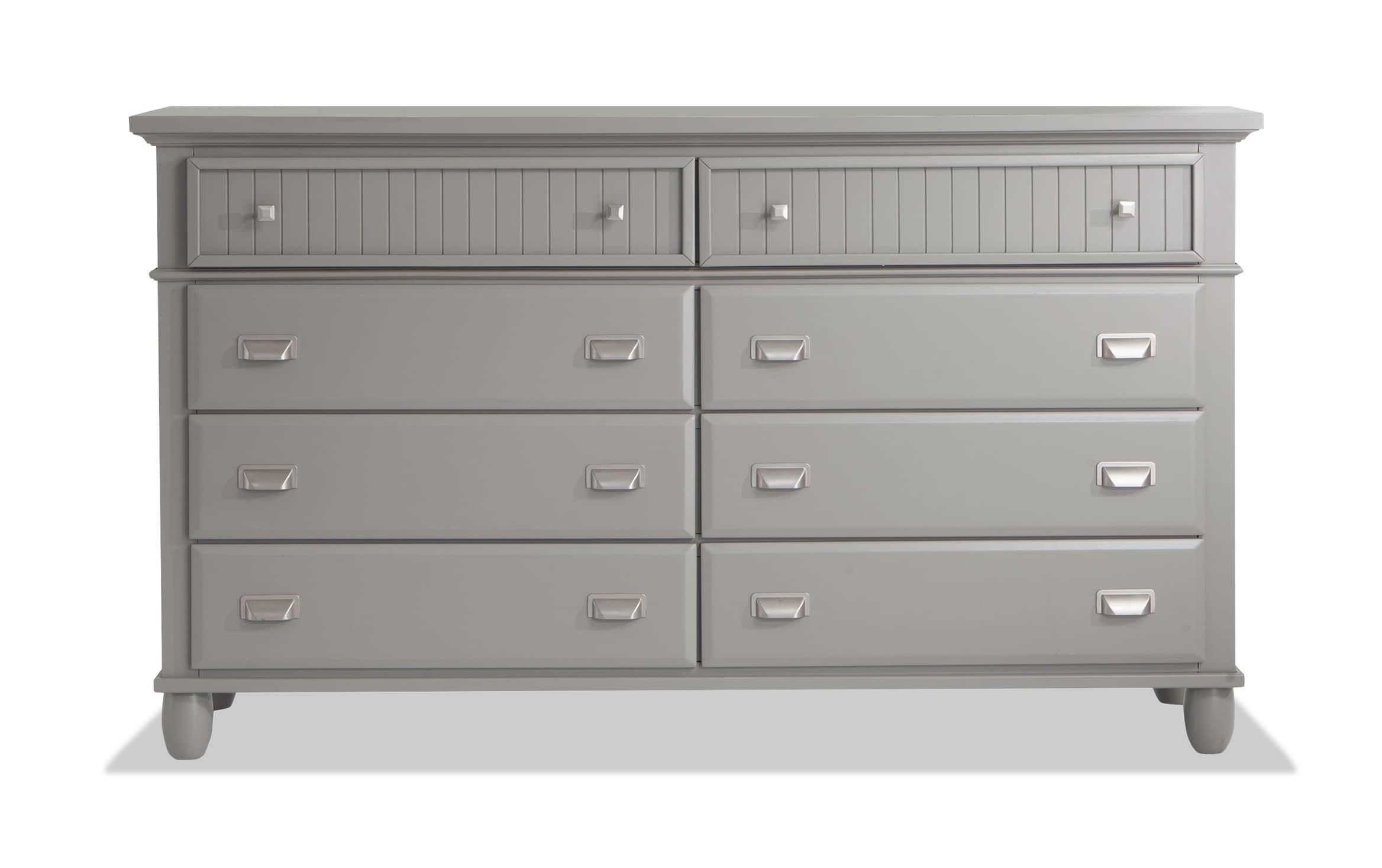Spencer Gray Dresser Bobs