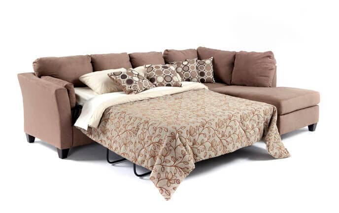 Libre II 2 Piece Left Arm Facing Innerspring Queen Sleeper Sectional