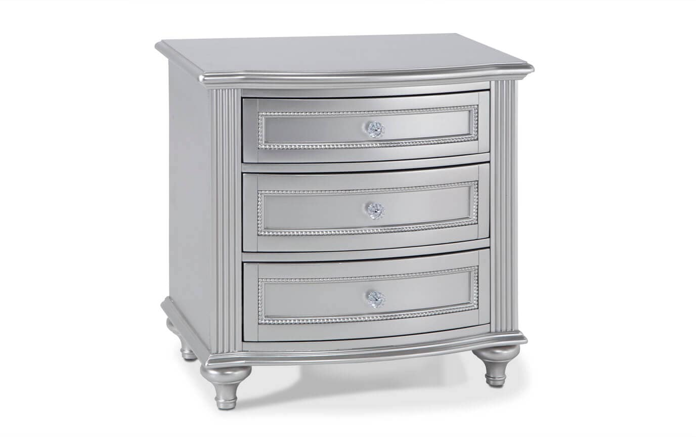 Madelyn Platinum Nightstand