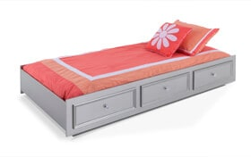 Madelyn Twin Platinum Trundle Unit