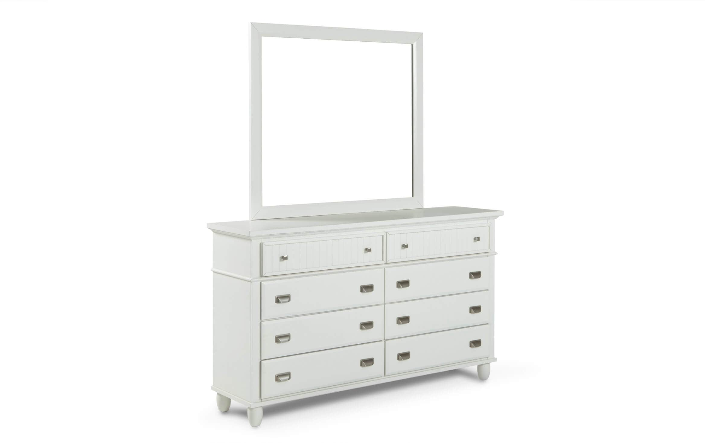 Spencer White Dresser Mirror Bobs
