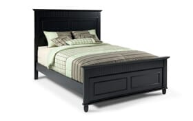 Spencer Queen Black Bed