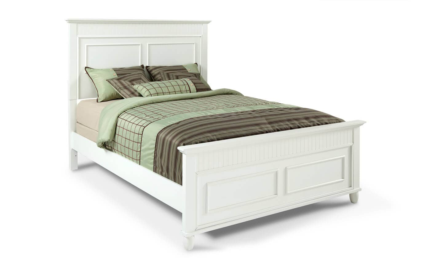 Spencer Full White Bed