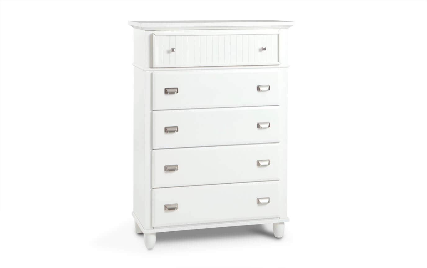 Spencer Queen White Bedroom Set