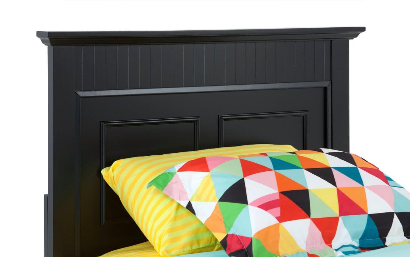 Spencer Twin Black Bedroom Set