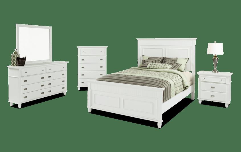 Spencer Twin White Bedroom Set