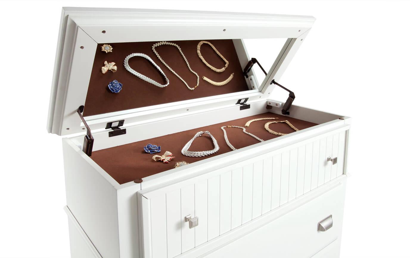 Spencer King White Bedroom Set