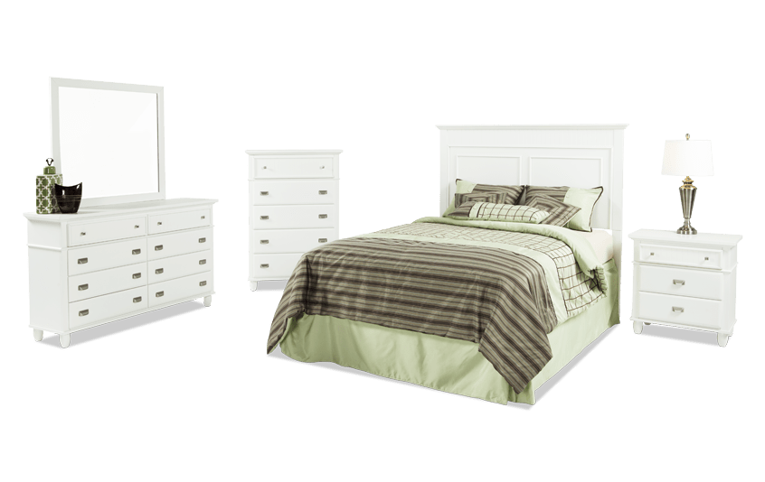 Spencer Twin White Bedroom Set