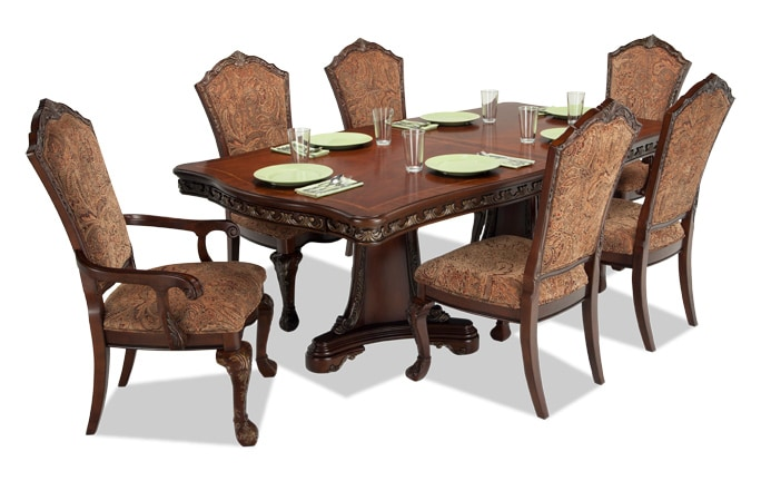 dining room table set. Majestic 7 Piece Dining Set Room Sets  Bob S Discount Furniture