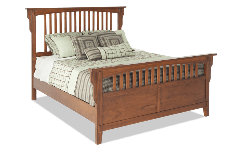 Mission Oak Queen Bed Discontinued