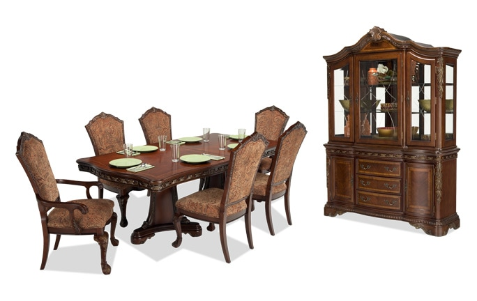 Majestic 9 Piece Dining Set with China