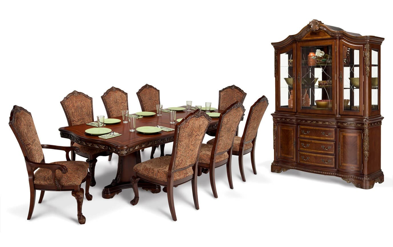 Majestic 11 Piece Dining Set with China