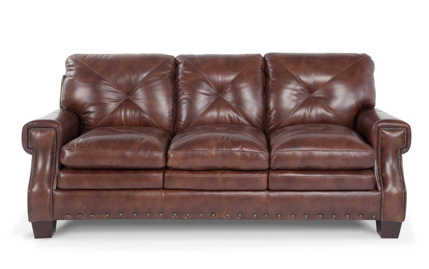 Lawrence Leather Sofa, Chair & Ottoman