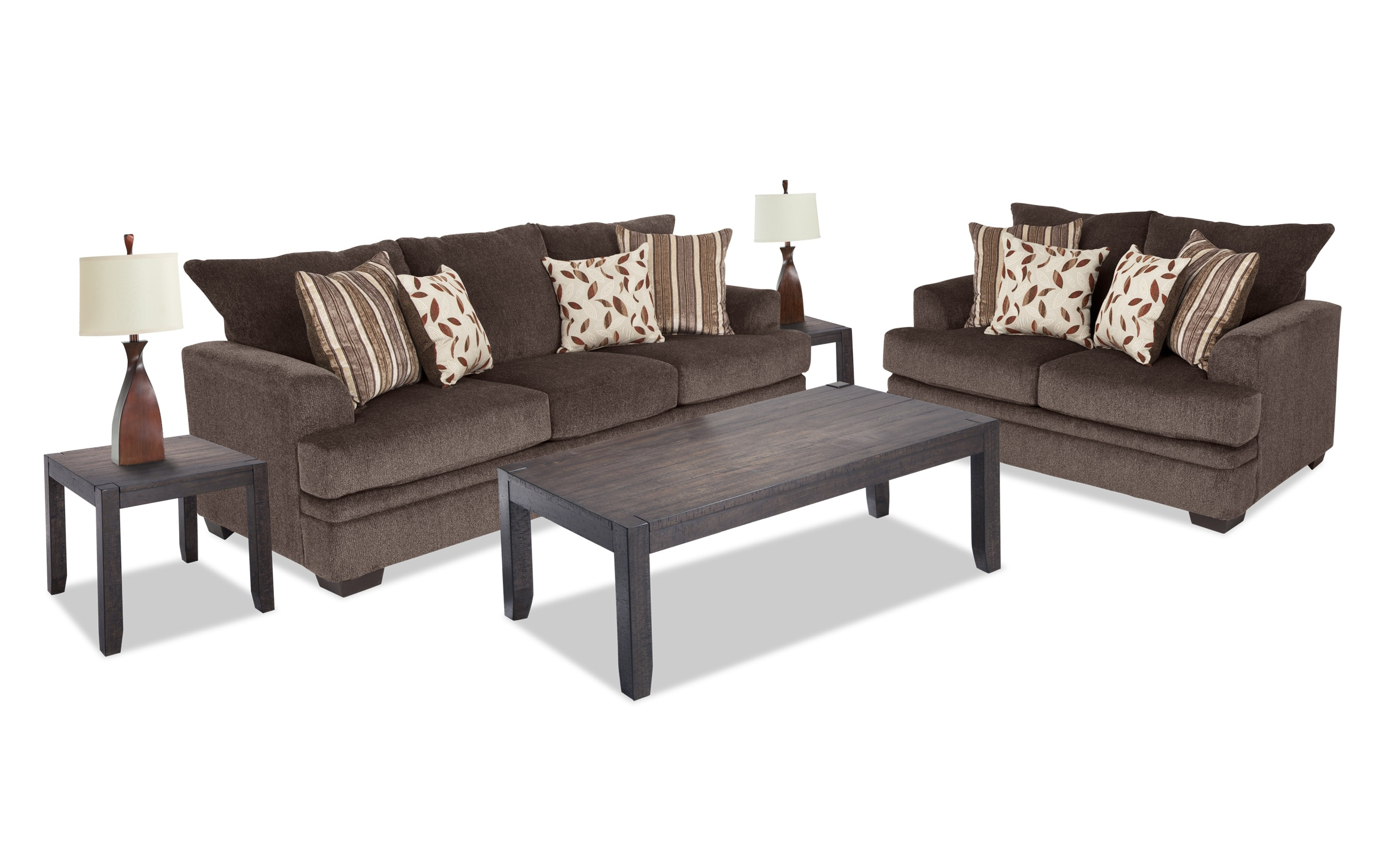 Miranda 9 Piece Living Room Set