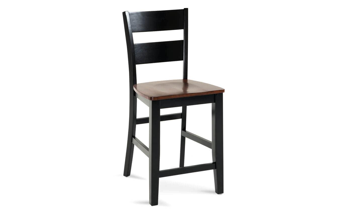 Enjoyable Blake Espresso Counter Stool Short Links Chair Design For Home Short Linksinfo