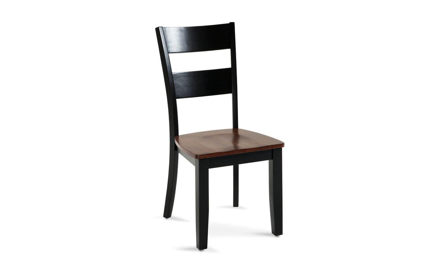 Blake Cherry & Black Dining Chair
