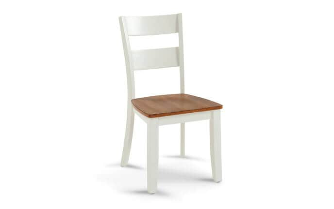 Blake Spice & White Dining Chair