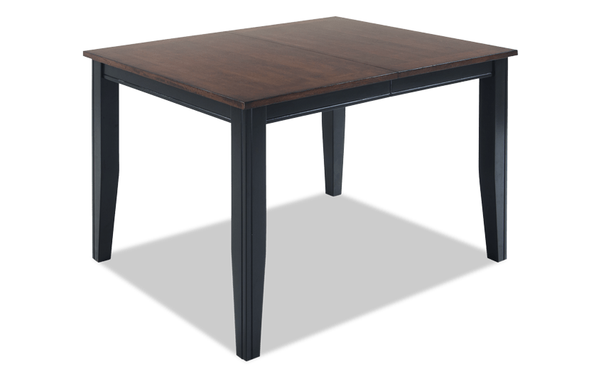 Blake Cherry & Black Dining Table
