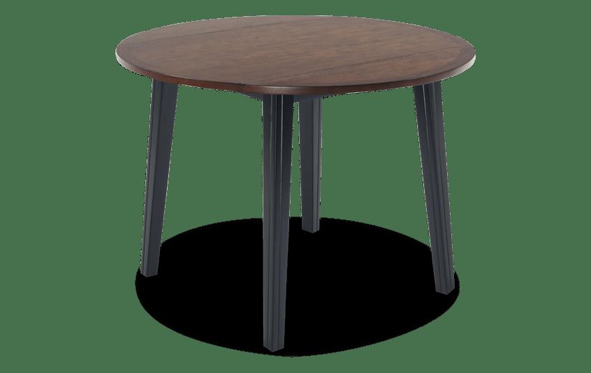 Blake Cherry & Black Drop Leaf Table