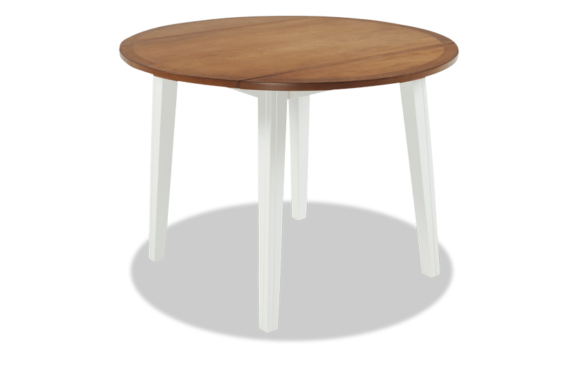 Blake Spice & White Drop Leaf Table