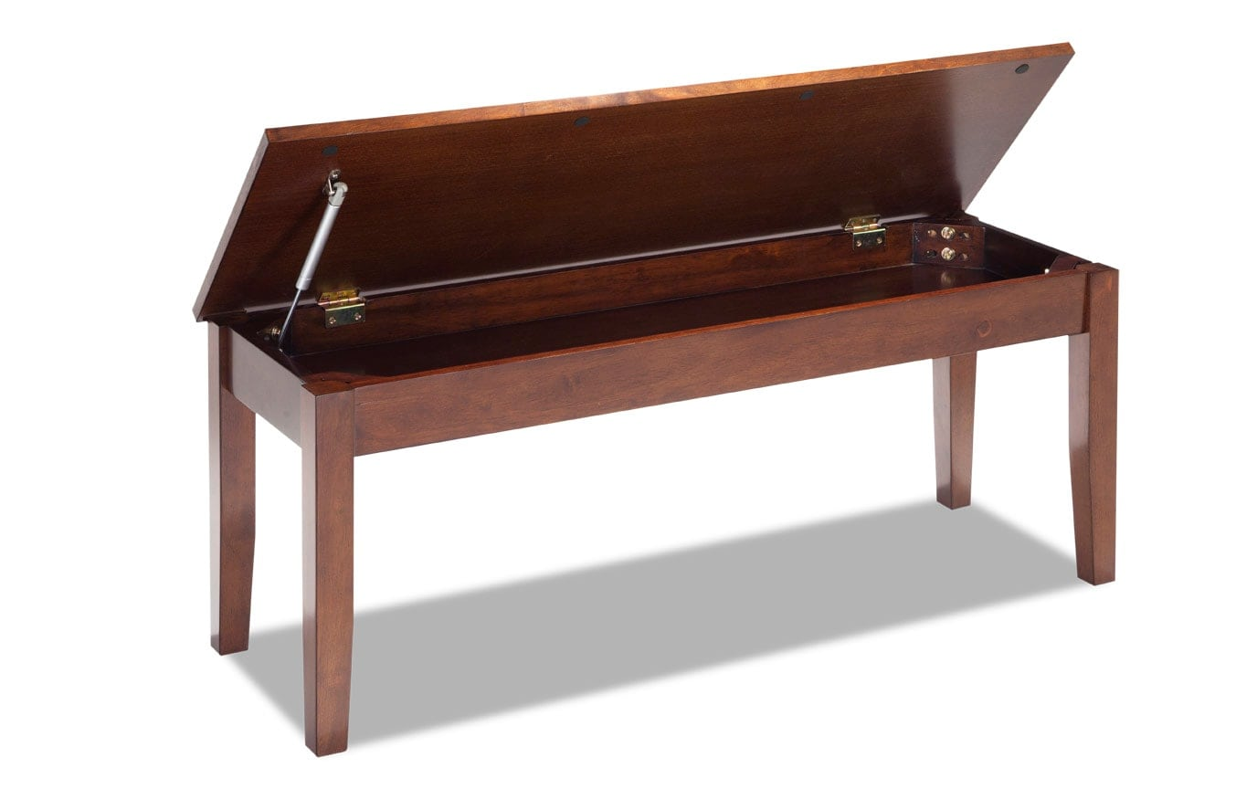 Blake Dining Espresso Storage Bench