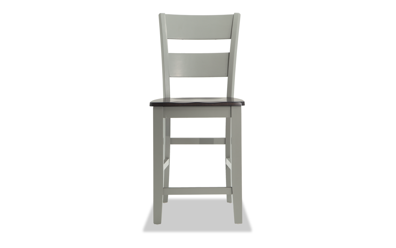 Marvelous Blake Gray Chocolate Counter Stool Pabps2019 Chair Design Images Pabps2019Com