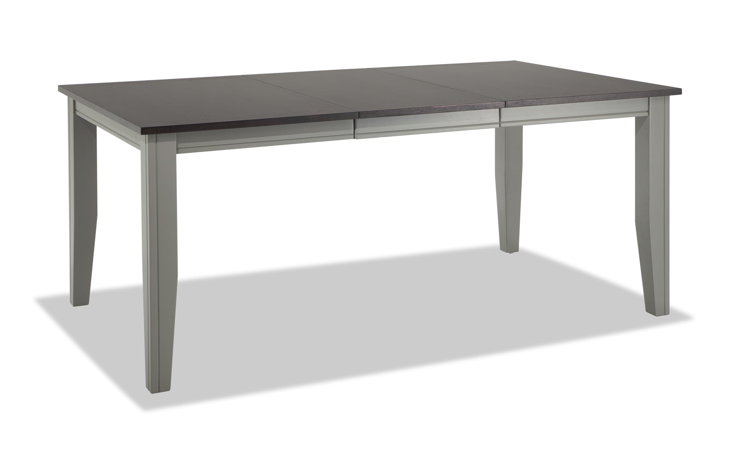 Blake Gray Chocolate Dining Table Bobs Com