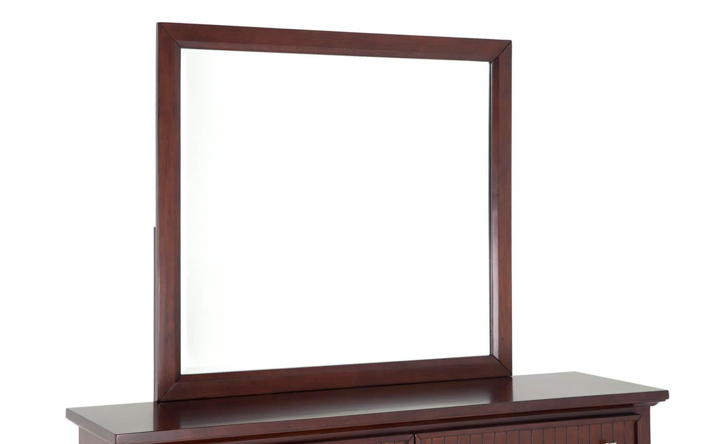 Spencer Cherry Dresser & Mirror