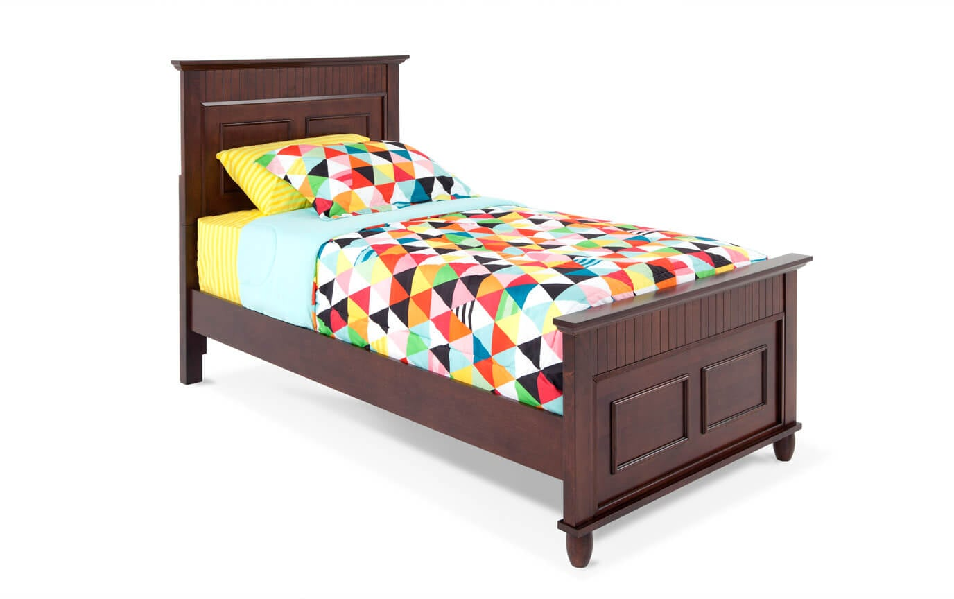 Spencer Twin Cherry Bedroom Set