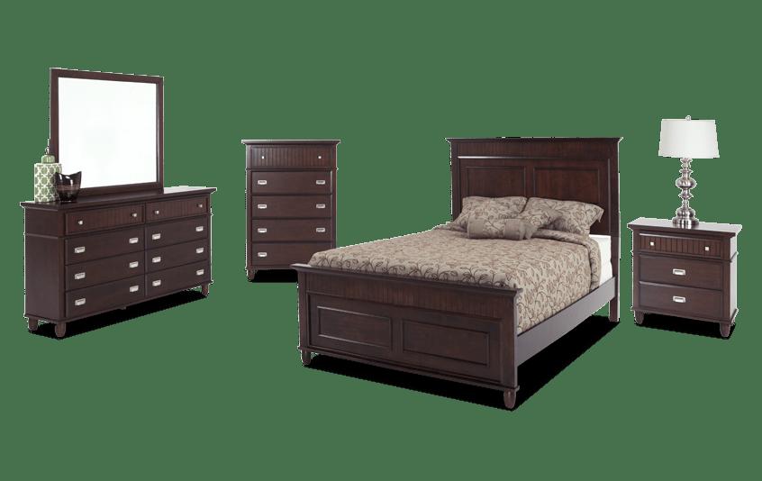 Spencer Full Cherry Bedroom Set