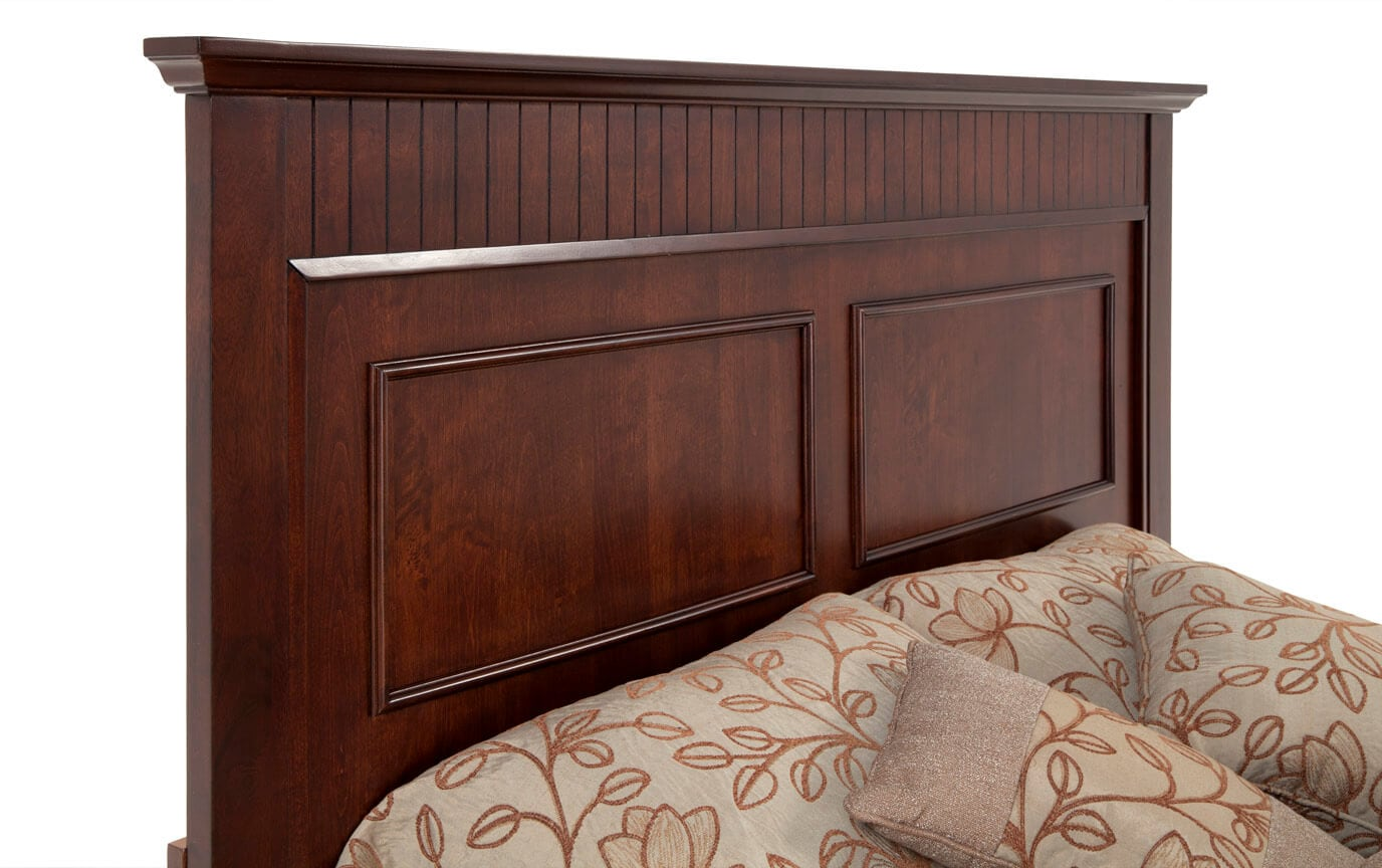 Spencer King Cherry Bedroom Set
