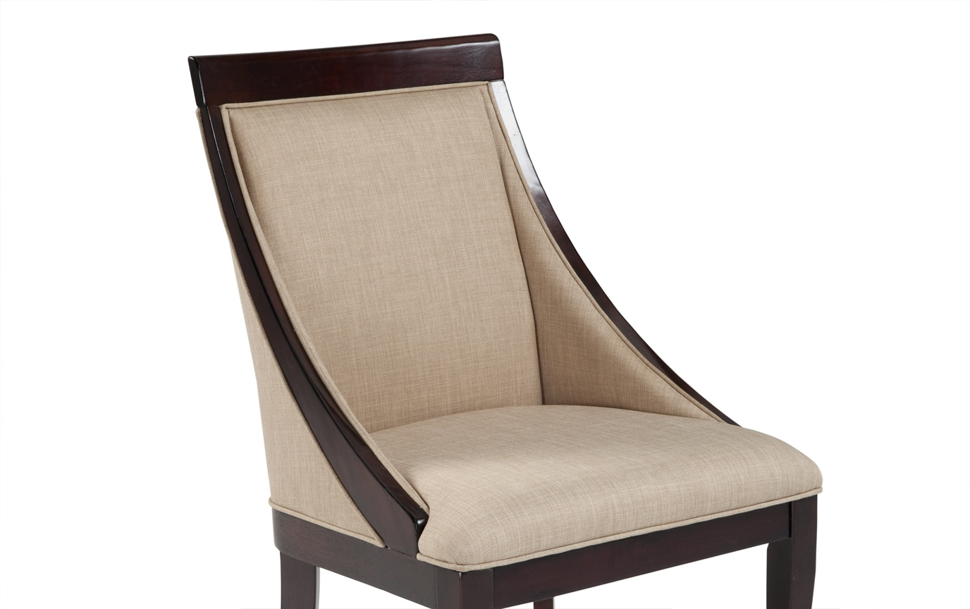 Gatsby Cherry Swoop Chair Bobs Com
