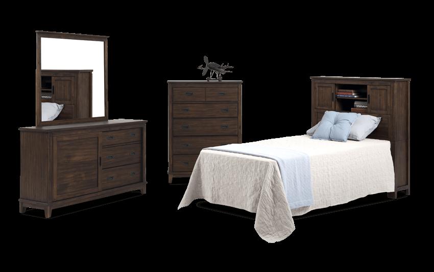 Chadwick Bookcase Bedroom Set